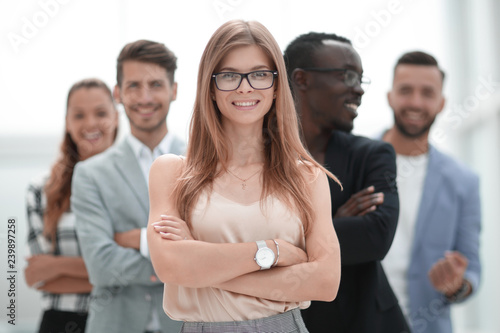 happy diverse black and white people group with smiling faces bo