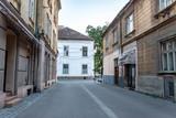 the street in Timisoara, Romania