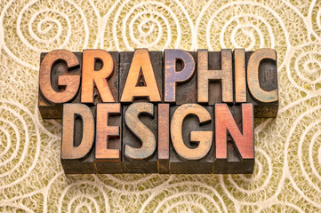 graphic design word abstract in wood type © MarekPhotoDesign.com