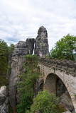 walking the bastei bridge in germany © Macca Sherifi