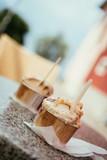 Italian ice cream at gelateria