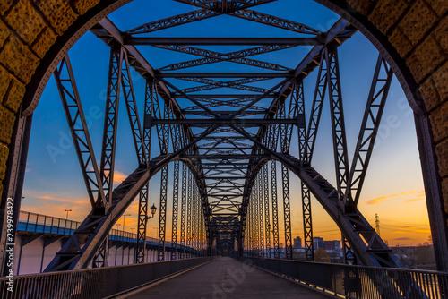mata magnetyczna Harburger Brücke