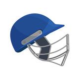 Sports gaming headgear, cricket helmet, baseball, rugby, quick team game.