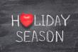 holiday season heart