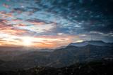 signe HOLLYWOOD au crépuscule © Image'in