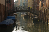 Bridge over Canal at dawn in Venice