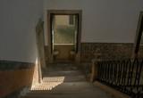 Stairwell With Window Shadow, Sao Martinho Monastery, Tibaes, Portugal