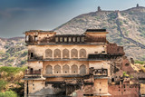 Amer fort in Amer city near Jaipur, Rajasthan, India.