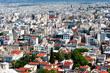 Panoramic view of Athens city, Greece