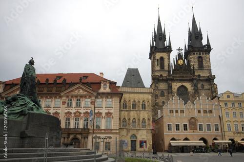obraz PCV The Jan Hus monument at Prague