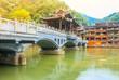 Leinwanddruck Bild - Landscape of Phoenix ancient town(Fenghuang),Hunan,China