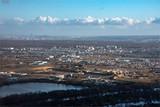 vue aérienne de la région de Poissy dans les Yvelines en France - 240084261