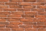 Old brown brick wall. Background. Texture