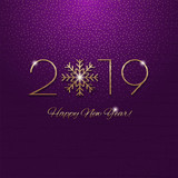 This is a festive 2019 new year design - 240092047