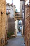 Toscana, il borgo di Gambassi Terme,Firenze.
