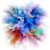 Depth of Color Splash Explosion - 240136463