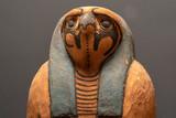 Horus wood egyptian god dead religion symbol statue