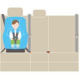 チャイルドシート シートベルト固定