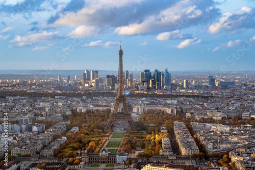 Leinwanddruck Bild Tour Eiffel