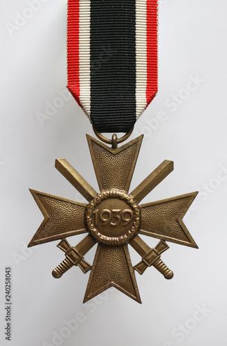 Deutsches Kriegsverdienstkreuz mit Schwertern vom 2. Weltkrieg