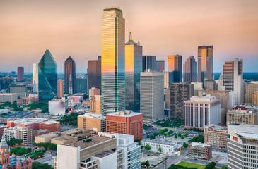 Dallas City Skyline Sunset © pabrady63