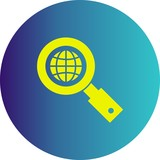 vector search icon - 240293682