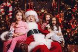 kids with santa © Andrey Kiselev