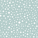 Seamless vector background with random white elements. Abstract ornament. Dotted abstract pattern - 240379471