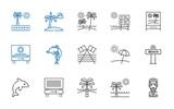 anchor icons set