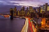NYC Traffic at night