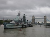 London , Tower Bridge  , England , Themse , Ship