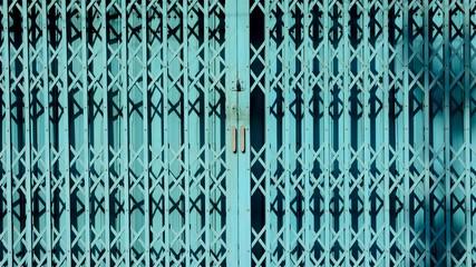 blue steel sliding door - light and shadow © sema_srinouljan