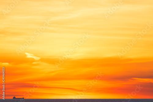 obraz lub plakat Sunset cargo