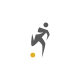 Fitness people colorful web icon