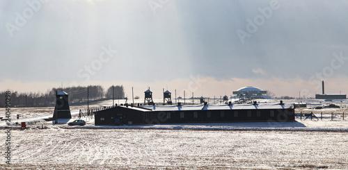 Leinwandbild Motiv Majdanek concentration camp, Lublin, Poland