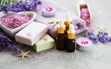 Lavender spa set © almaje