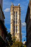 Paris. Tower of Saint Jacques. © pillerss