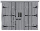 Old Hardwood Barn Door - 240520892