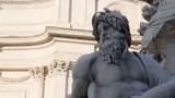 Statue of Zeus in Bernini's fountain of Four Rivers in Piazza Navona, Rome - 240521411