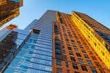Modern buildings in New York City
