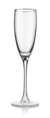 Empty flute champagne glass © Coprid