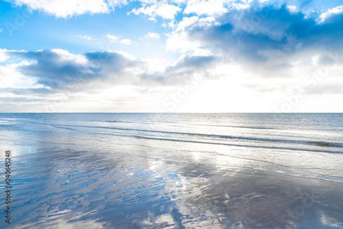 Strand an der Nordsee bei Blavand, Dänemark