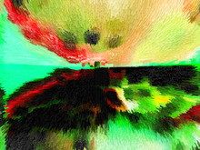 "Постер, картина, фотообои ""Color art and abstract design"""