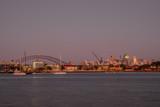 Sydney city at first light
