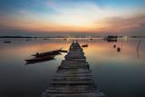 Sunset Moment at batam island indonesia