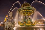 Fontaine Place de la Concorde in Paris © Netfalls