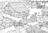 Farm. Farm animals