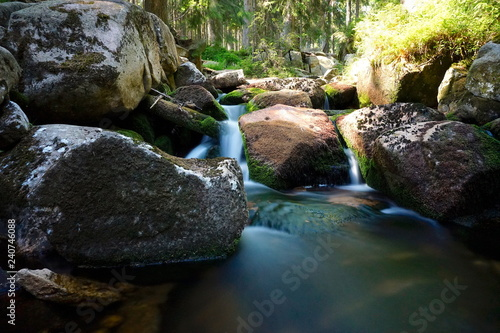 Wasserfall im Harz  - 240746088