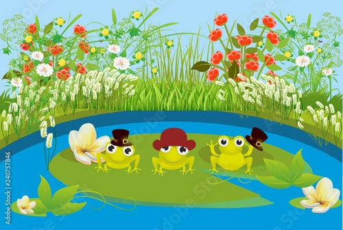 Wiosna nad stawem  - 240757846