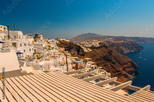 Santorini Fira, Greece - landscape